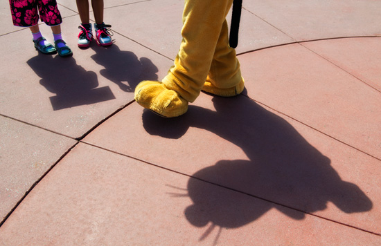 Shadows of Joy in Town Square at Magic Kingdom Park