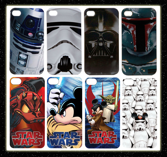 Star Wars 'D-Tech On-Demand' iPhone Cases Available from Disney Theme Park Merchandise