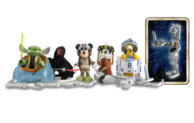Star Wars Vinylmation Figures from Disney Theme Parks Merchandise