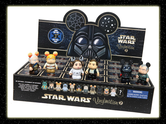 Popular Vinylmation – Star Wars Collection Expands with a New Series at Disney Parks