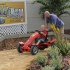 The Richesons Family Gets a Backyard Makeover Inspired by Cars Land on HGTVs&#8217;My Yard Goes Disney&#8217;