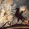 Fireworks Over Rancho del Zocalo at Disneyland Park