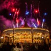 Disney Parks After Dark: Fireworks in Fantasyland at King Arthur's Carrousel at Disneyland Park