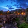 Disney Parks After Dark: Bridge to Beast's Castle in New Fantasyland
