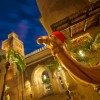 Disney Parks After Dark: Morocco Pavilion After Sunset at Epcot