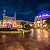 Disney Parks After Dark: Arabian Coast Courtyard at Tokyo DisneySea