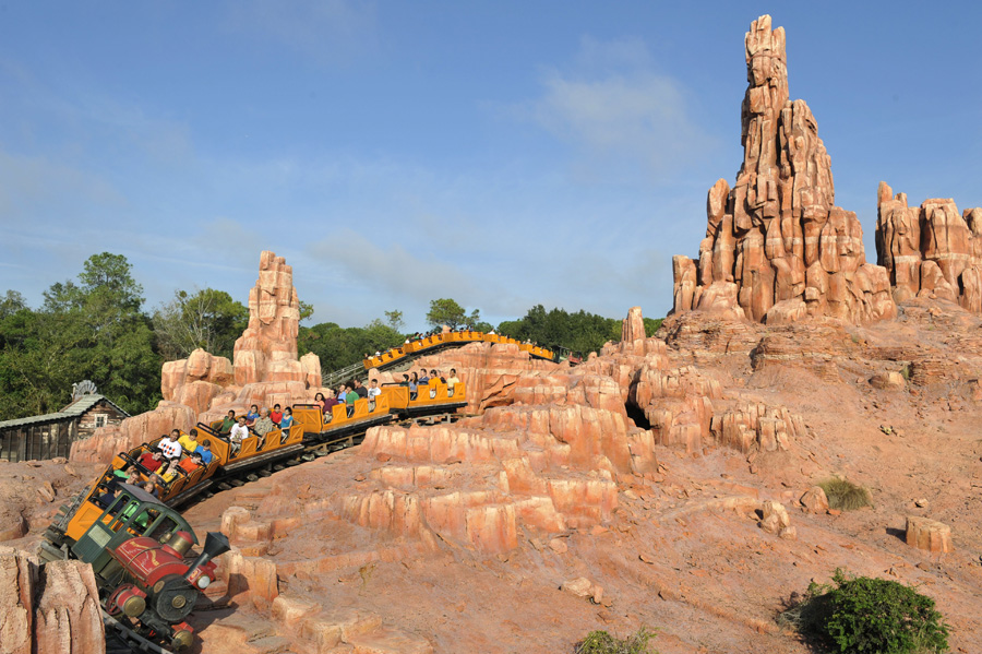 big thunder mountain railroad - photo #21