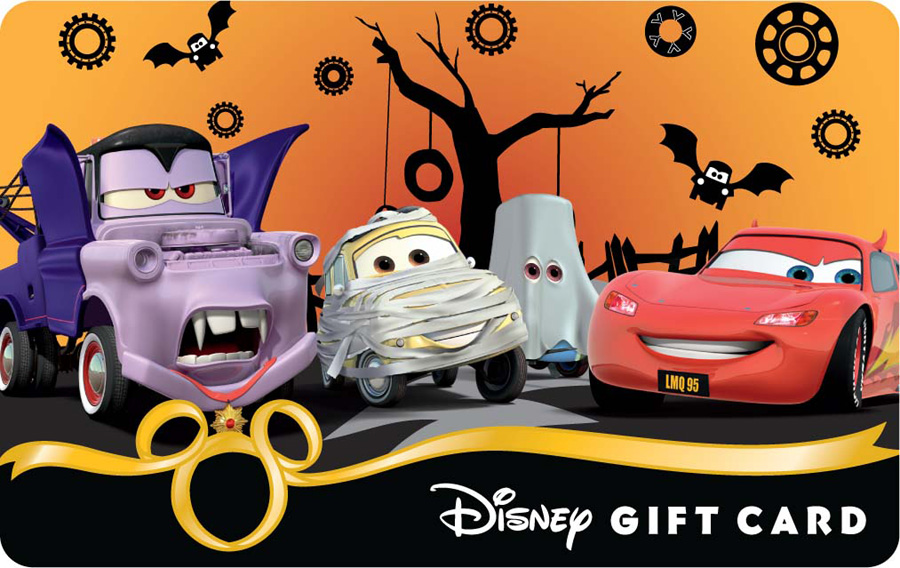 new halloween 2012 disney gift card designs disney parks blog. Black Bedroom Furniture Sets. Home Design Ideas