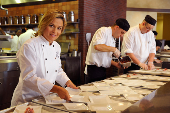 Meet John Lasseter, Celebrity Chef Cat Cora at Epcot International Food & Wine Fest Dinners