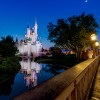 Disney Parks After Dark: A Quiet Cinderella Castle