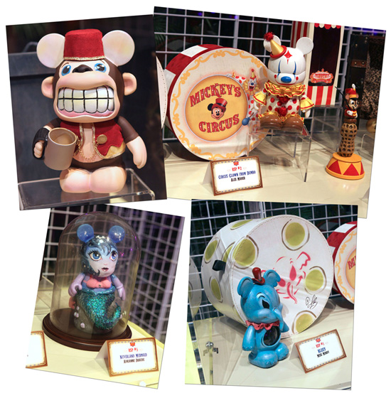 Vinylmation at Mickeys Circus Trading Event at Epcot