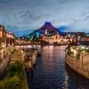 Disney Parks After Dark: Mount Prometheus at Tokyo DisneySea