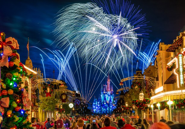 Disney Parks After Dark: 'Holiday Wishes' at Magic Kingdom Park