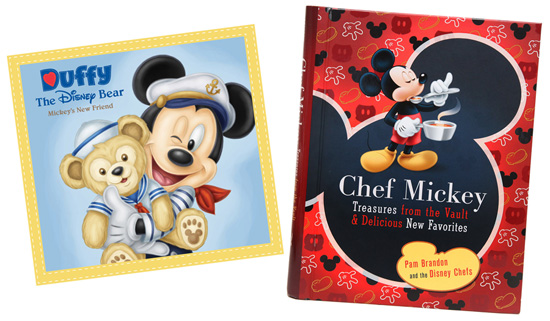 'Duffy the Disney Bear - Mickey's New Friend' and 'Chef Mickey – Treasures from the Vault & Delicious New Favorites,' Available from Disney Digital eBooks