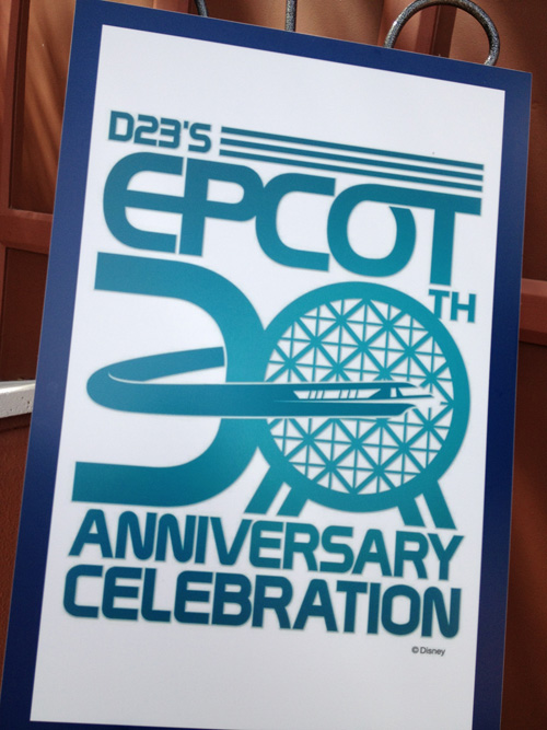 The 30th Anniversary of Epcot Kicks Off Today With D23 Festivities