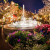 Disney Parks After Dark: Fountains Light Up Epcot's France Pavilion