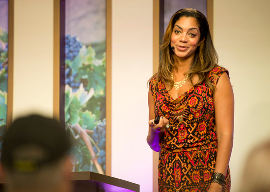 HGTV's Daniell Colding at the Epcot International Food & Wine Festival at Walt Disney World Resort