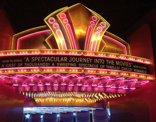Sign from The Great Movie Ride at Disney's Hollywood Studios