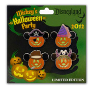 Pins Available for Halloween Time at the Disneyland Resort