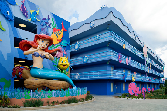 Part of Your World: 'The Little Mermaid' Wing of Disney's Art of Animation Resort Opens September 15