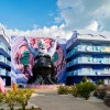 The Little Mermaid Courtyard of Disneys Art of Animation Resort Becomes Part of Your World September 15