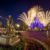 Disney Parks After Dark: The Partners Statue at Magic Kingdom Park