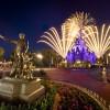 Disney Parks After Dark: The Partners Statue at Magic Kingdom Park