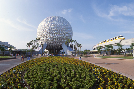 Epcot Images: Then and Now