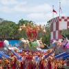 """For guests who can't wait until November 19 to start their journey in New Fantasyland, the Storybook Circus area of the expansion is already open, which includes the """"doubled"""" Dumbo the Flying Elephant, Casey Jr. Splash N Soak Station, and Barnstormer – Starring the Great Goofini."""