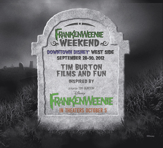 Downtown Disney at Walt Disney World Resort Hosting Frankenweenie Weekend