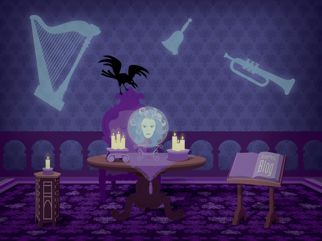 Let Madame Leota Haunt Your Desktop With This Wallpaper