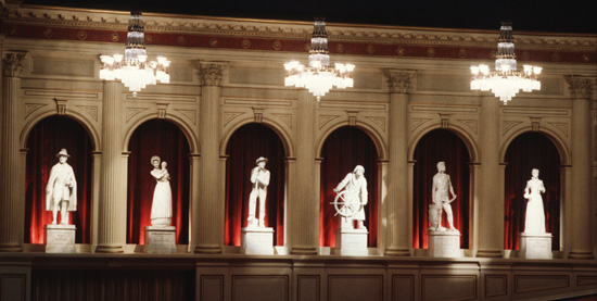The Spirits of America in the American Adventure Pavilion at Epcot