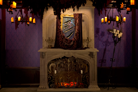 The West Wing in Be Our Guest Restaurant in New Fantasyland at Magic Kingdom Park