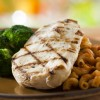 Grilled Chicken Breast from the Kids' Menu at Be Our Guest Restaurant in Magic Kingdom Park