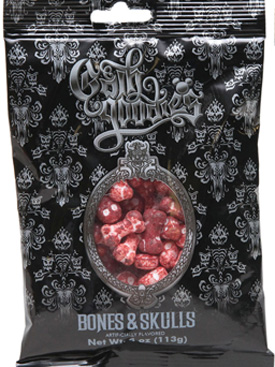 Oooey-Gooey Ghoulish Delights from the Disneyland Resort Candy Kitchens Featuring Goth Goodies