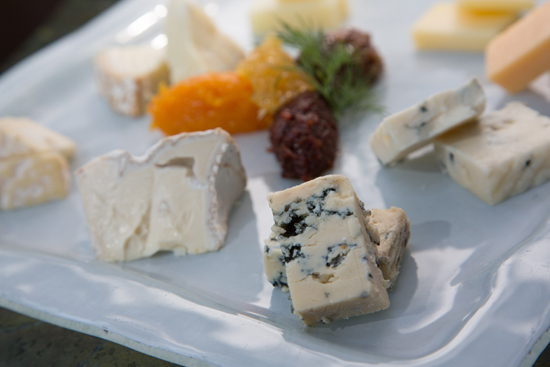 Variety of Cheeses Available from Napa Rose at Disney's Grand Californian Hotel & Spa at Disneyland Resort