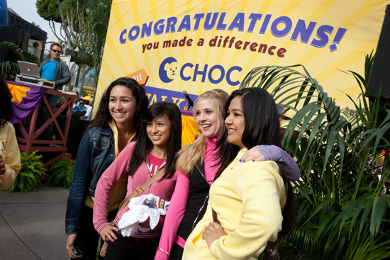 Disney Channel Star Caroline Sunshine Participates in CHOC Walk at the Disneyland Resort Sunday, October 14