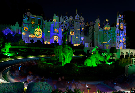 'its a small world' During Mickey's Halloween Party in Disneyland Park