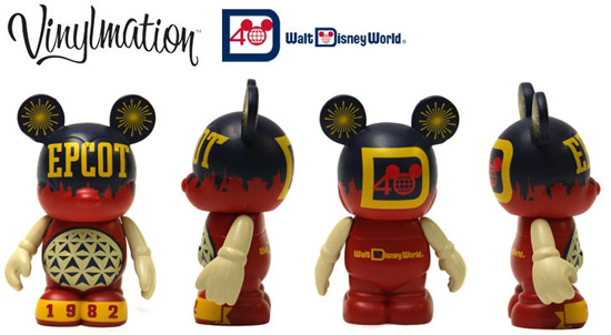 Celebrate the 30th Anniversary of Epcot with a Special Vinylmation