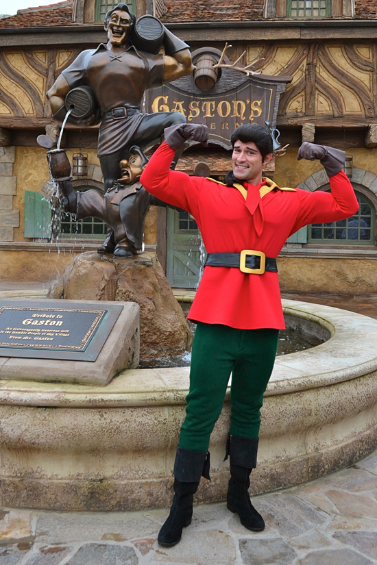 Youll Soon be Able to Meet Man Among Men, Gaston, in Belle's Village in New Fantasyland