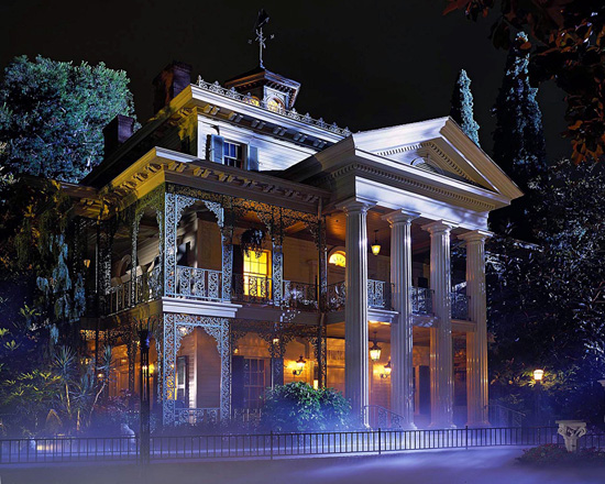 The Haunted Mansion at Disneyland Park