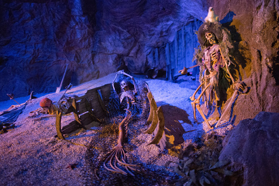 You Can Now See a Mermaid Skeleton in Pirates of the Caribbean at Walt Disney World Resort
