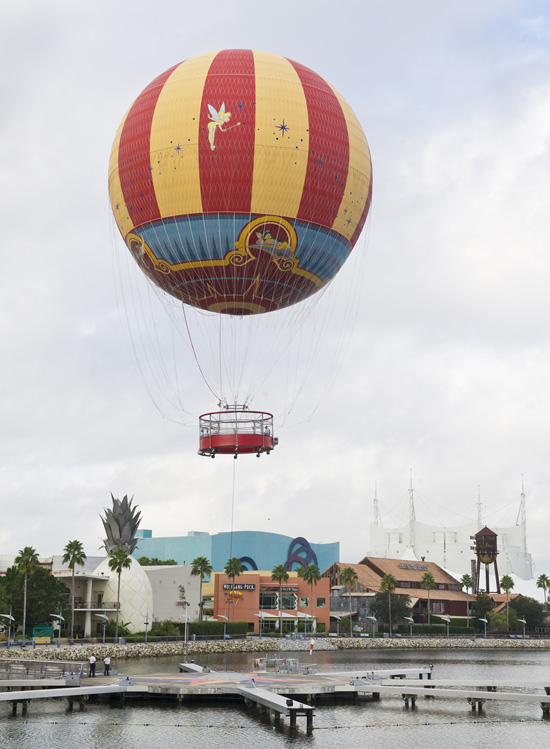 The New Characters In Flight Balloon at Downtown Disney at Walt Disney World Resort