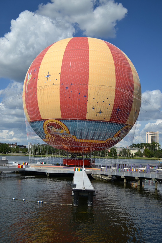 A New 'Characters In Flight' Balloon Will Soon Debut at Downtown Disney at Walt Disney World Resort