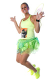Coast to Coast: The Most Famous Fairy of All is Also a Popular Running Costume During the Tinker Bell Half Marathon at Disneyland.