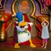 Meet The Astounding Donaldo at Petes Silly Sideshow in New Fantasyland