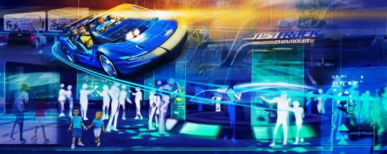 Test Track to Reopen at Epcot December 6