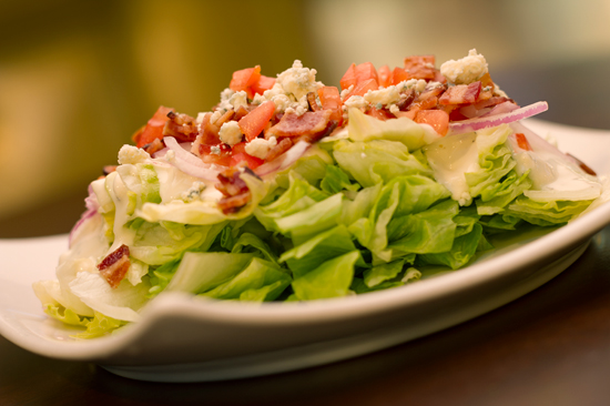 Salad Available at Splitsville Luxury Lanes at Downtown Disney West Side