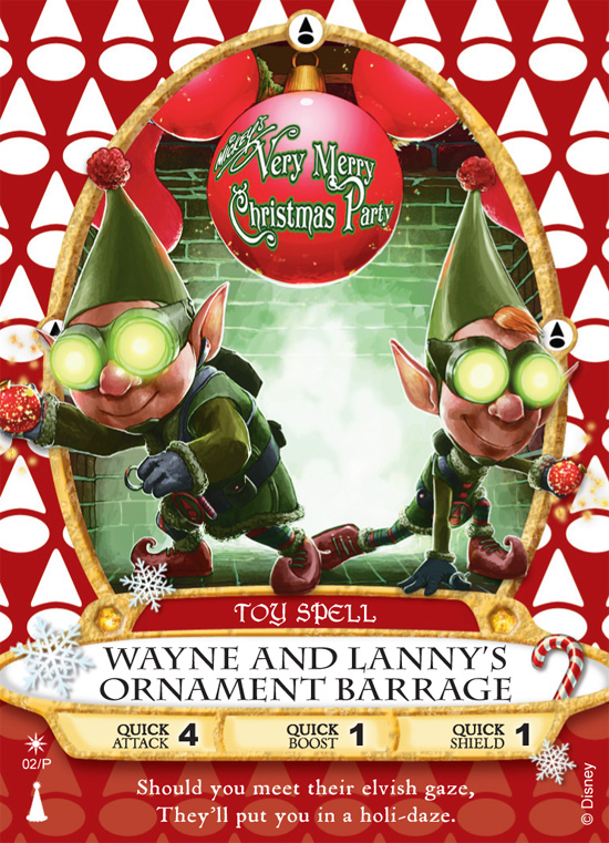 Holiday Sorcerers of the Magic Kingdom Card to be Released at Mickey's Very Merry Christmas Parties