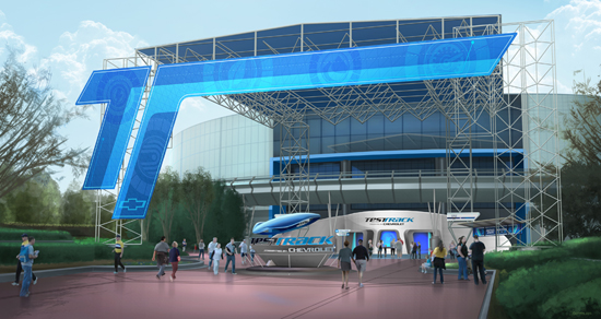 Test Track's New Look Will Be Unveiled at Epcot This Week